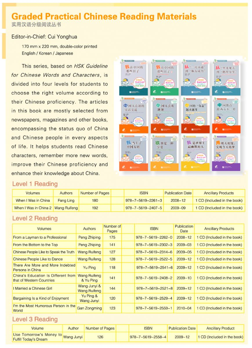 Practical Chinese Graded Reader